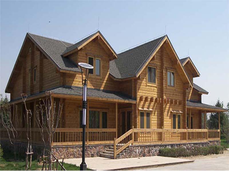 木结构房屋造价买超低价海南木屋,优选富林木结构工程