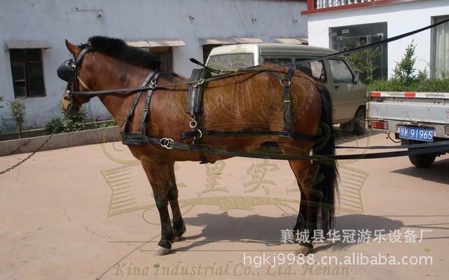 普通马挽具/马套/马缰绳/马口衔铁/YC-WJ001/拉不断的马挽具