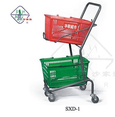 沙家浜商业设施供应便宜的手推车昌平手推车、仓储笼、理货车、挂篮、促销台