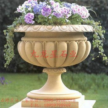 供应石雕花盆 欧式花盆