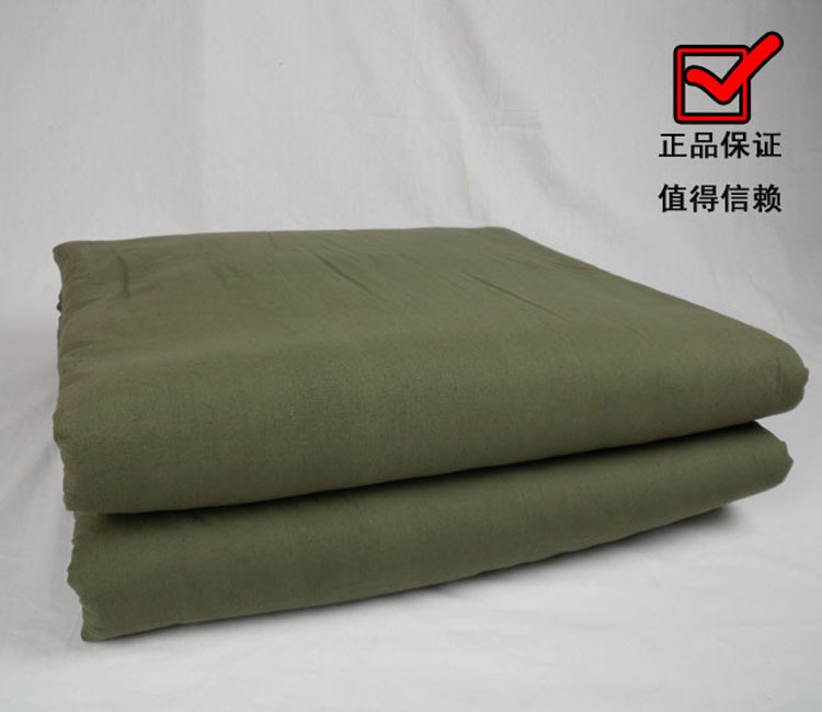 优质纯棉jun用棉被 救灾物资军棉被军被 保暖棉被 军绿被褥郑州河南