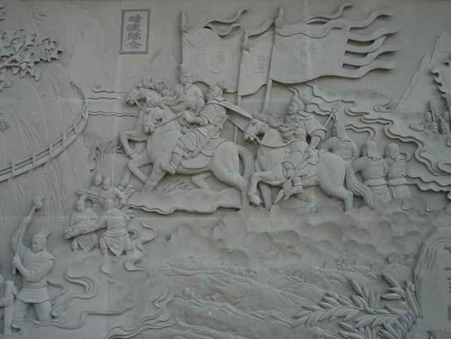 小区欧式浮雕墙