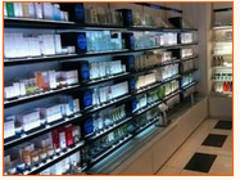 成都铁质化妆品展柜首选尚美展示道具公司、价位合理的铁质化妆品展柜