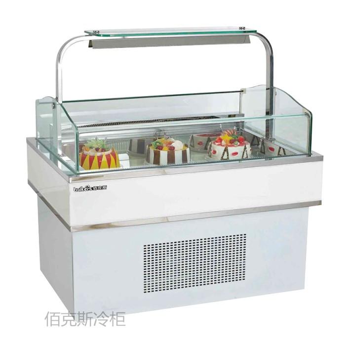 烘焙制冷设备 面包房蛋糕柜 奶茶店蛋糕柜 中岛蛋糕柜