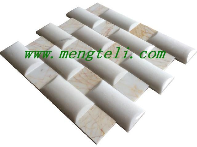 龙岩石材马赛克 价位合理的石材马赛克蒙特丽供应