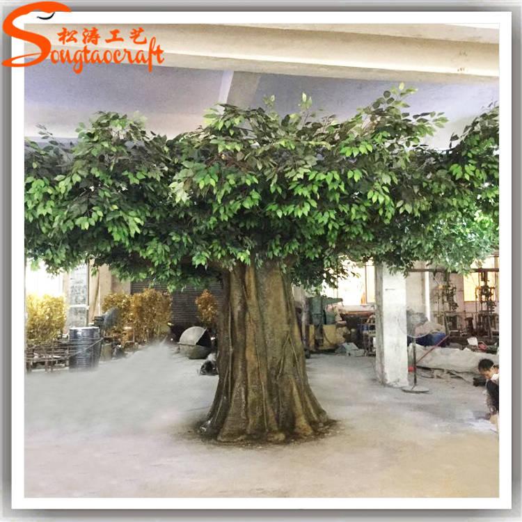 真树,假山造景,仿真植物墙,绿雕及玻璃钢相关制品,生产的仿真树