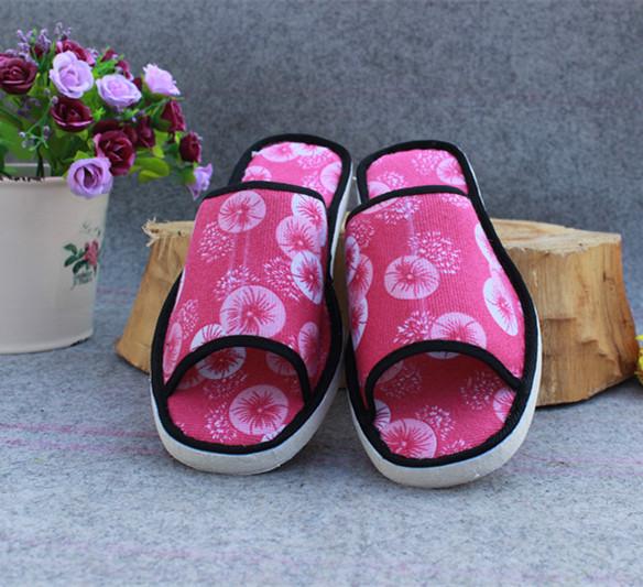 夏季室内凉拖鞋生态棉麻拖鞋女式单拖鞋