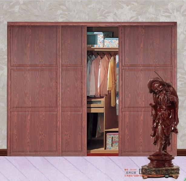 花鸟衣柜玻璃门画素材