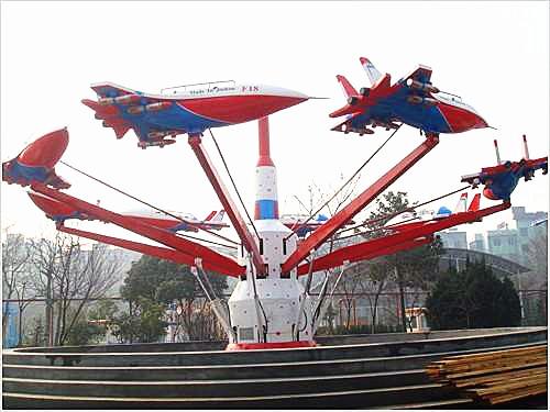 口碑好声誉佳专业游乐设备品质室外大型游乐设施8臂自控飞机