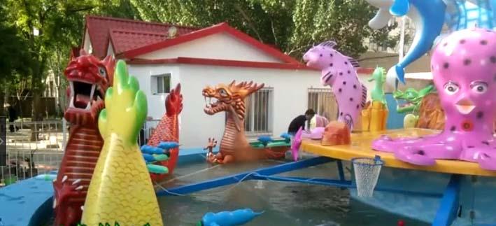 群龙闹海(鲨鱼岛中心)大型公园游乐设备河南知名厂家产品介绍