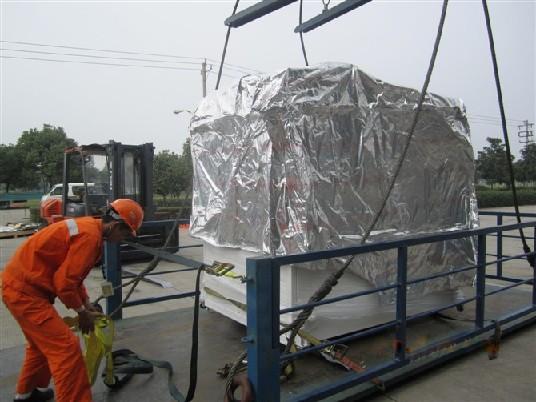 设备卸柜哪家好 苏州设备拆箱公司 设备拆箱服务找威力达