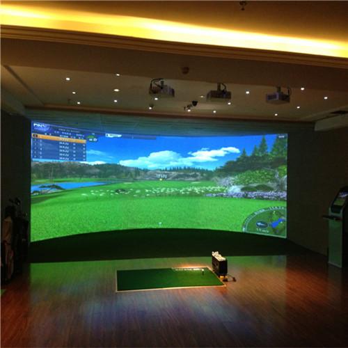 室内高尔夫模拟器家庭高尔夫设备全自动回球系统