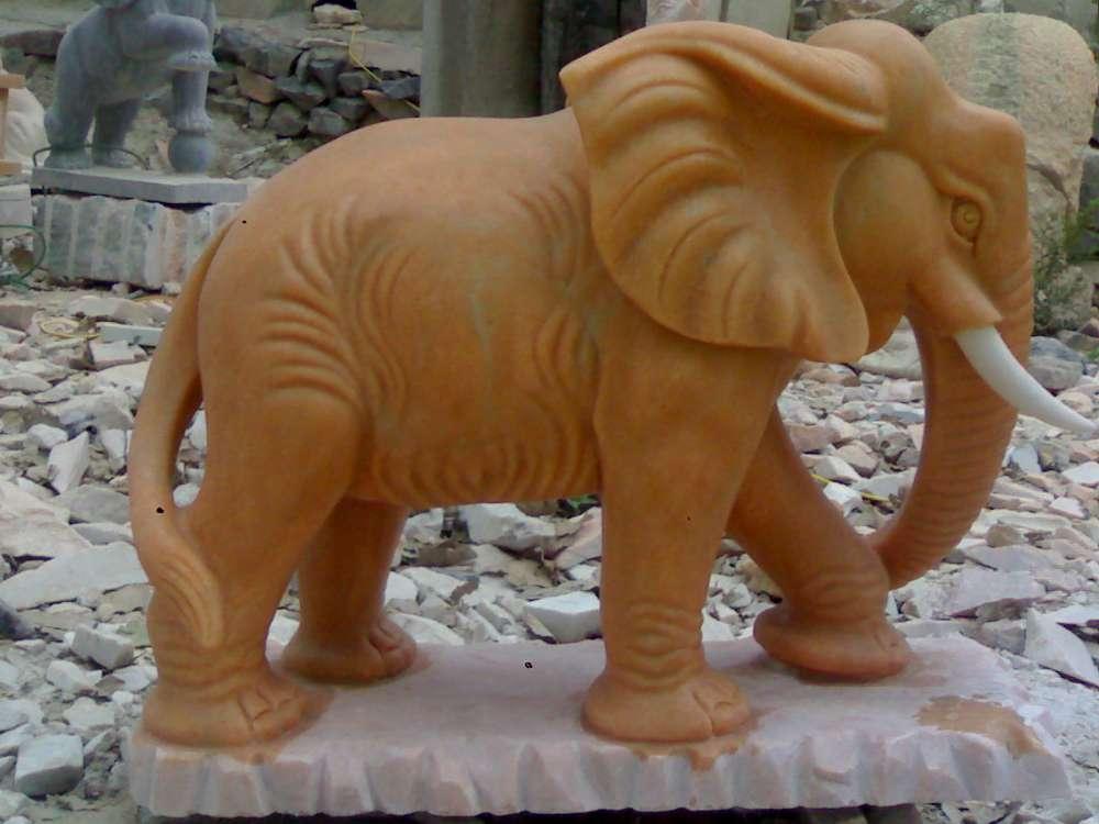 福建大象动物晚霞红壁柜吉祥大象纳福雕塑雕塑v大象石膏板电视雕塑设计图图片
