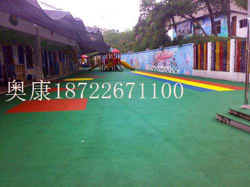 团泊镇幼儿园彩色人造草坪施工-安装公司