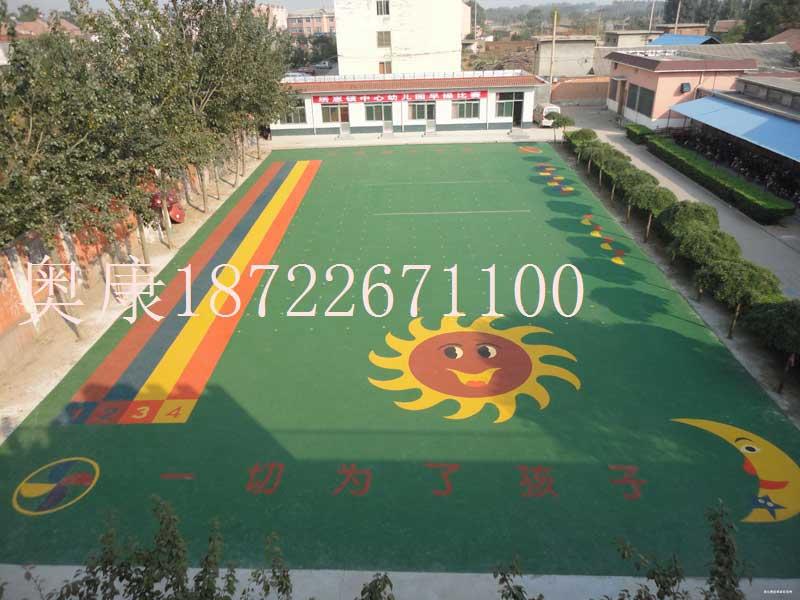 河北幼儿园彩色人造草坪施工-安装公司