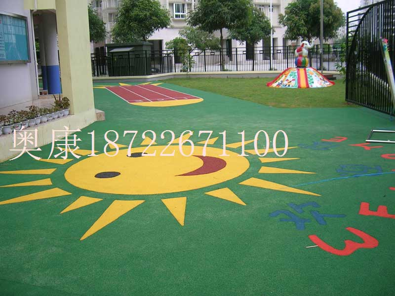重庆羽毛球场橡胶地垫安装材料厂家