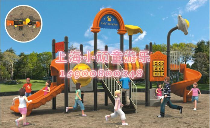 上海新款幼儿园大型室外组合滑梯 儿童/小孩户外游乐设备 塑料玩具小博士
