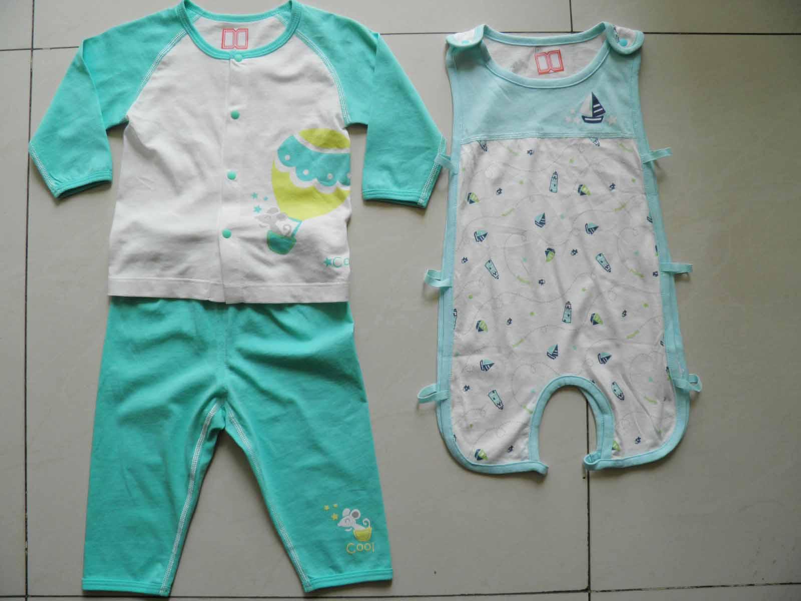 承接杭州四季青四针六线无骨无缝婴幼儿服装订单