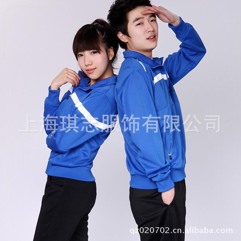 【上海品牌校服】上海校服生产厂家专业订做 成都中学生运动校服套装图片