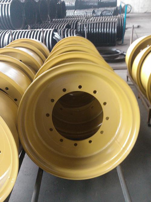 工程钢圈_中联重科装载机钢圈总成工程钢圈轮辋_工程