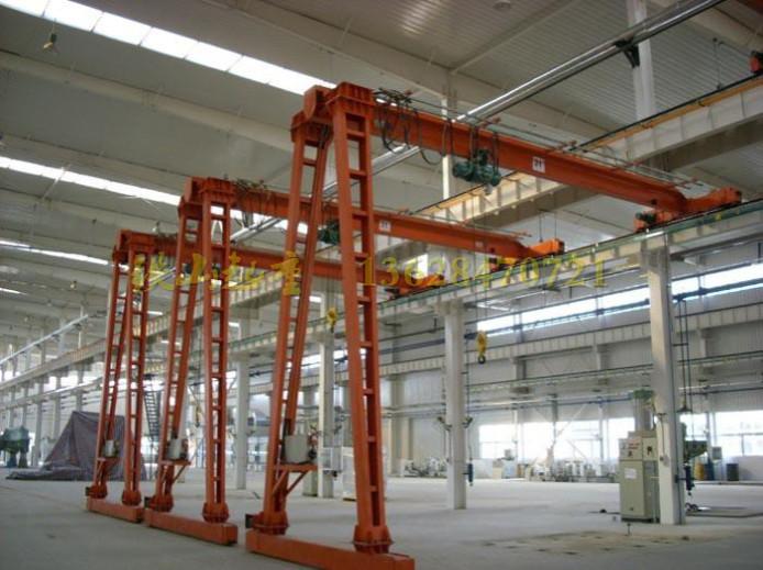 供应型半门式起重机