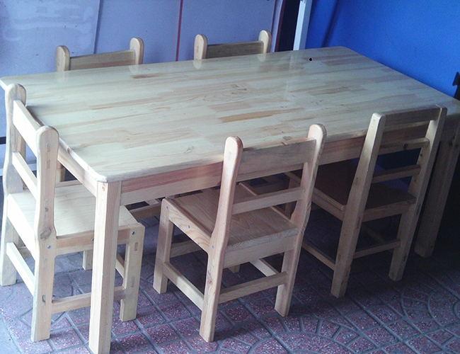 保定幼儿园木制课桌椅