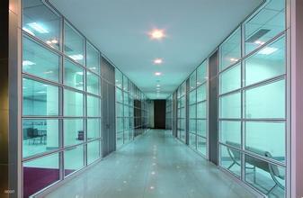 天津办公室专用金属隔断 双玻百叶隔断 可活动玻璃隔断 易安装可拆卸办公隔断