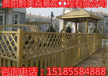 防腐木栏杆规格,木栅栏厂家