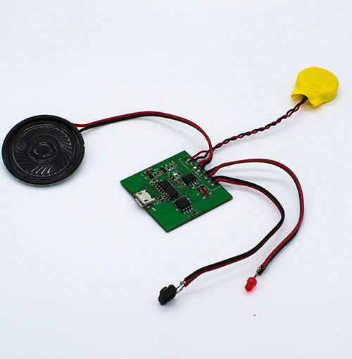 包装礼品盒发声机芯 影控音乐盒 USB下载语音影控语音盒 简单方面