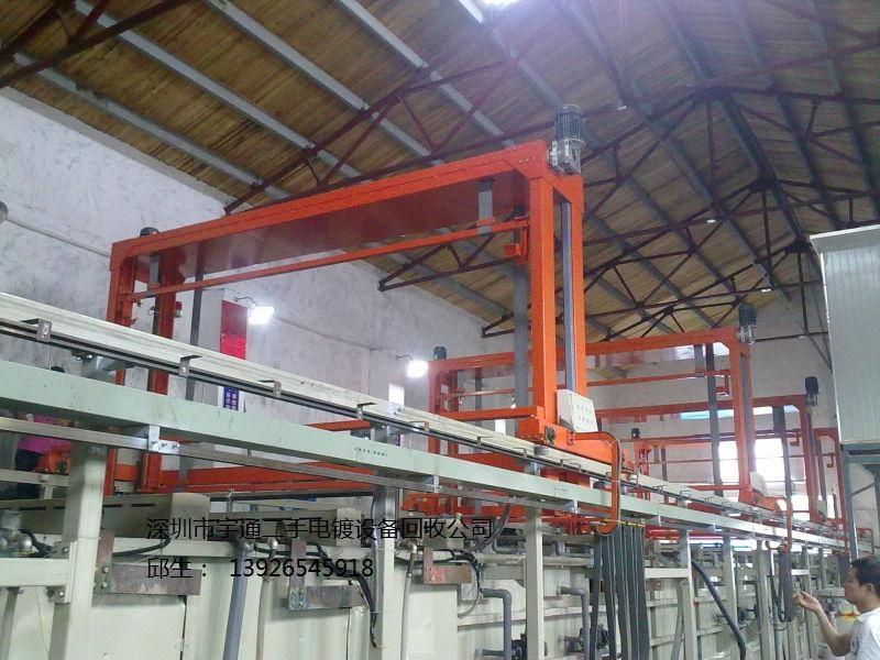 长期专注于回收二手电镀设备电镀线电路板pcb电镀