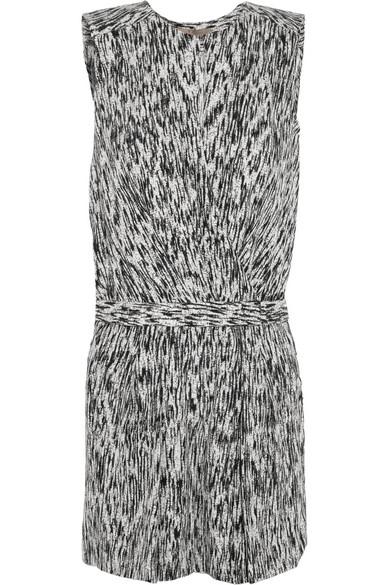 OEM/ODM女式黑白双色印花连衣短裤显瘦