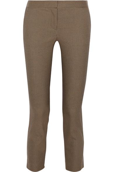 OEM/ODM休闲直筒灰褐色九分女裤