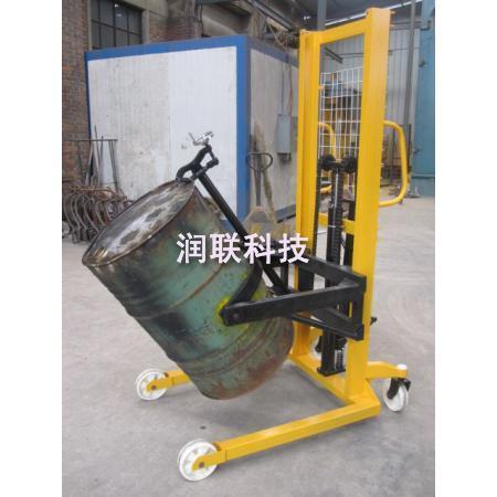580-620mm脚踏式液压油桶升高车搬运叉车dg1000b叉车