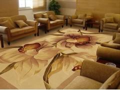 成都过道地毯定做 成都办公室地毯素色 成都手工地毯