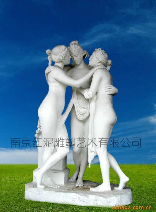 延安人物雕塑汉白玉欧式人物石雕雕塑厂家设计制作