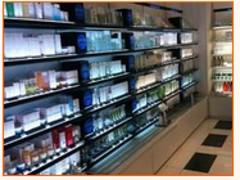 双流铁质化妆品展柜四川好的铁质化妆品展柜