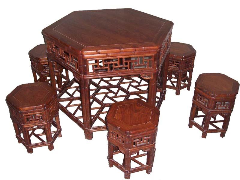 明东花梨木家具、市场上为畅销的餐桌椅