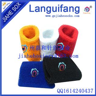 厂家批发运动吸汗毛巾护腕 订做绣花纯棉赠品适用
