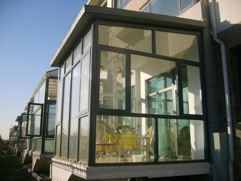 山东汇凯诚通门窗提供打折隔声型断桥铝门窗1519417111