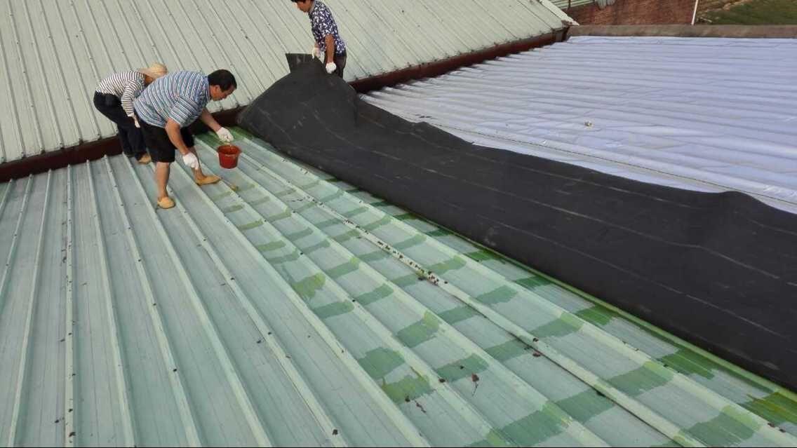 现有普通钢结构厂房屋顶