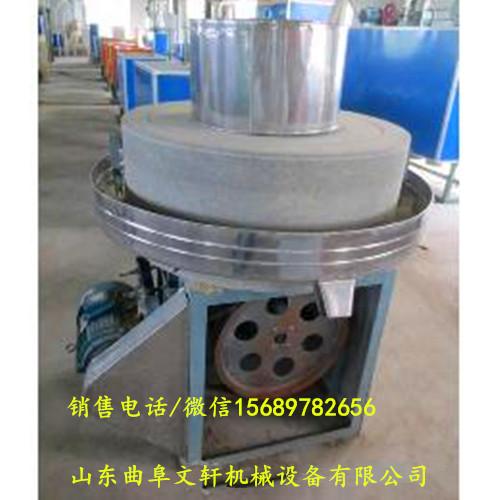 供应五谷杂粮电动石磨机、青稞面粉电动石磨型号全电动石磨面粉机厂家