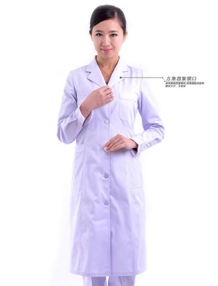 广西冬天医生白衣服订做