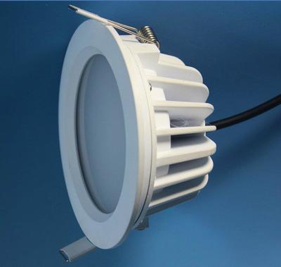 外表面喷白漆 LED筒灯配件批发
