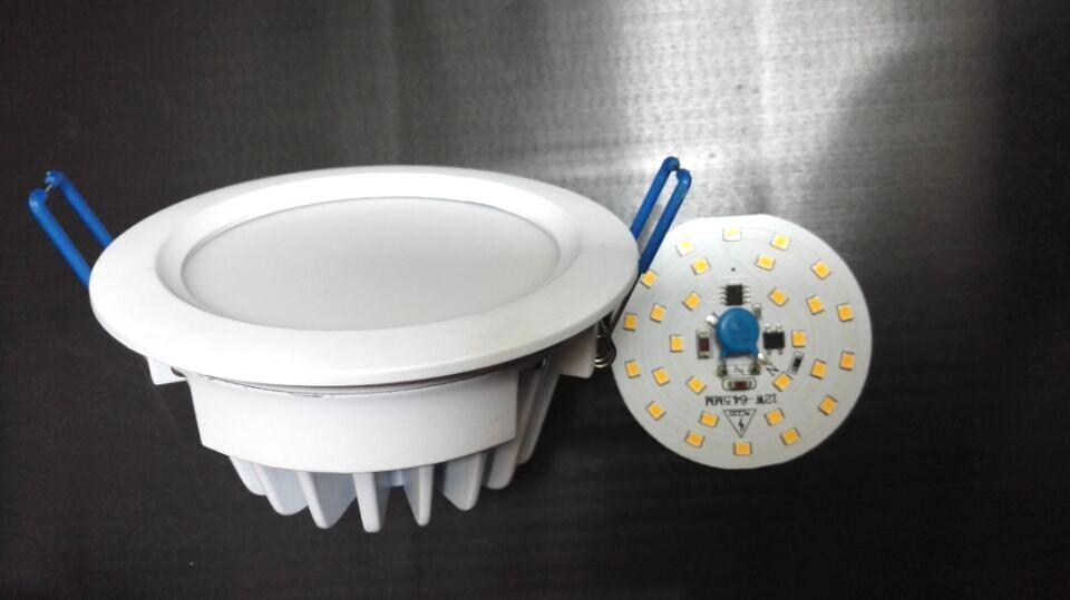 专业筒灯外壳4寸压铸LED筒灯外壳