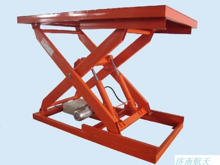 电动液压升降机,小型升降机,微型升降机,手动电动一体图片