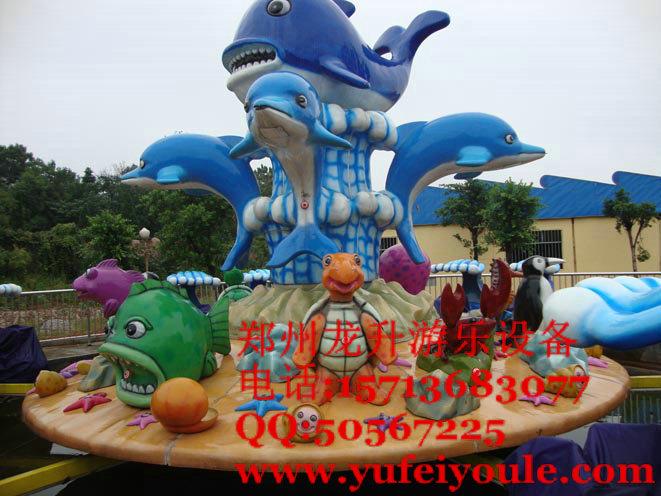 大型游乐设备激战鲨鱼岛儿童游乐设施尽在龙升游乐厂价销售尽在龙升