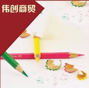 广东伟创绘图彩色油性铅笔