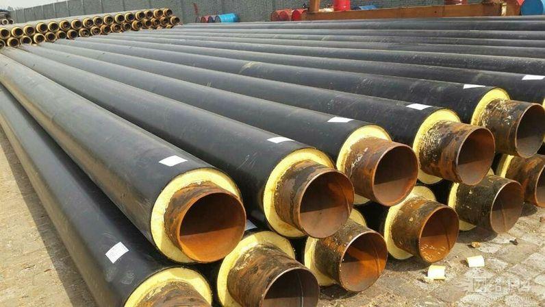 扎兰屯市DN630*9螺旋焊接聚氨酯直埋保温管