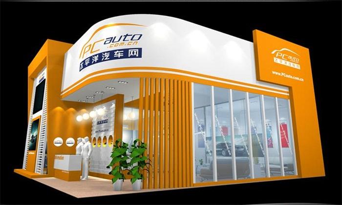 深圳汽车展展览展台设计 双威展览
