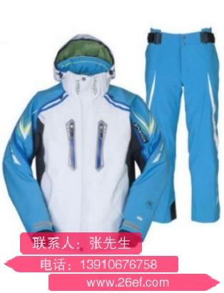 青岛连体滑雪服订做贴牌加工厂家那个好